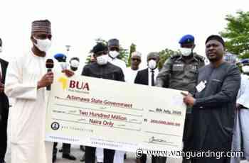 COVID-19: BUA Foundation donates N200m, 3 ambulances to Adamawa - Vanguard