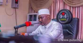 Adamawa Governor Fintiri refuses temperature check at airport, rejects sanitizer - Pulse Nigeria