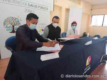 MSP y Municipio de Riobamba firmaron convenio interinstitucional - Diario Los Andes