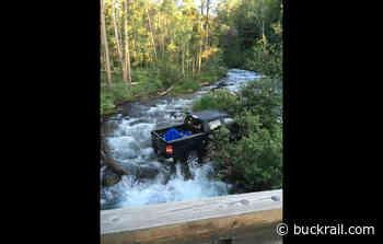 Truck crashes into Lake Creek off Moose-Wilson Road - Buckrail