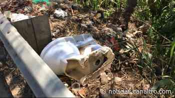 Cansados de los escombros en Piedecuesta - Canal TRO