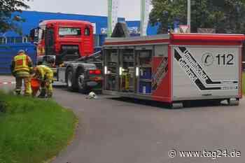 Bierlaster löst in Grevenbroich skurrilen Feuerwehreinsatz aus - TAG24