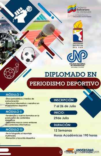 CNP Cojedes promueve diplomado en periodismo deportivo - El Nacional