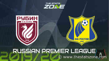 2019-20 Russian Premier League – Rubin Kazan vs Rostov Preview & Prediction - The Stats Zone