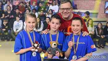 Drei Schüler aus Bad Mergentheim bei ZDF-Kindersendung - mainpost.de
