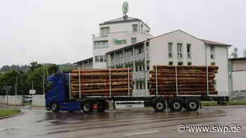 Klenk Holz Oberrot: Geht der Schwerverkehr um zehn Prozent zurück? - SWP