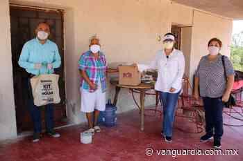 Sabinas continúa entregando apoyos alimentarios y kits de sanitización a adultos mayores - Vanguardia.com.mx