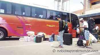 ▷ Tacna: Desde hoy se reinician viajes a Lima, Ilo y Moquegua | lrsd | coronavirus | Sociedad - Noticias Peru - Noticias por el Mundo
