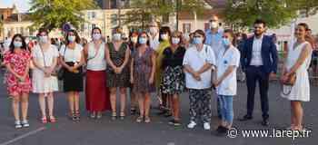 Hommage - 14-Juillet : le personnel soignant à l'honneur à Montargis - La République du Centre