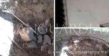 Viviendas resultan afectadas tras dinamitar un predio en Cerro Azul - Vanguardia de Veracruz
