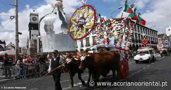 Festas do Espírito Santo de Ponta Delgada assinaladas simbolicamente - Açoriano Oriental