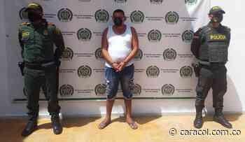 Reconocido expendedor de drogas es capturado en Cicuco, sur de Bolívar - Caracol Radio