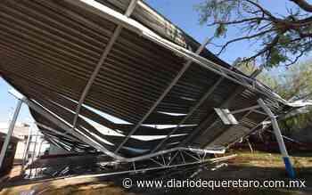 Galeras y Viborillas las más afectadas por granizada de ayer - Diario de Querétaro