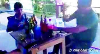 Encuentran a alcalde de Pangoa libando en recreo violando las medidas de bioseguridad (VIDEO) - Diario Correo