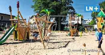 Timmendorfer Strand hat einen neuen Spielplatz an der Kurpromenade - Lübecker Nachrichten