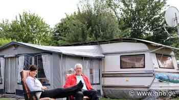 Urlaub vor der Haustür: Der Campingplatz in Frielendorf bietet neben Erholung im Grünen auch leckeren Kuchen - HNA.de