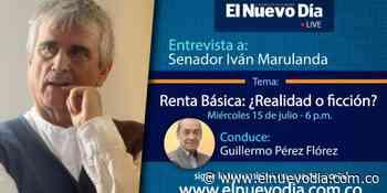 En entrevista Guillermo Pérez con el Senador Iván Marulanda - El Nuevo Dia (Colombia)