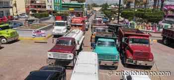 Transportistas le dan 15 días al edil de Tlaxcoapan para que les pague adeudo - Criterio Hidalgo