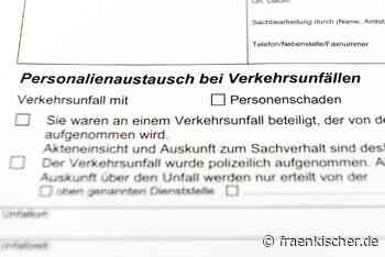 Wolframs-Eschenbach: +++Gartenzaun mit Sattelzug beschädigt +++ - Fränkischer.de
