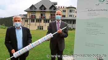 Triberg: Finanzspritze wortwörtlich - Triberg - Schwarzwälder Bote