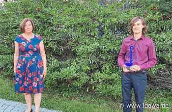 Landau an der Isar: Sonderpreis ging an Moritz Haase - idowa