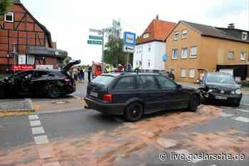 Ein Unfall mit drei Fahrzeugen - GZ Live