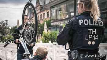 Großkontrolle nach vermehrten Fahrrad- und Ebike-Diebstählen in Erfurt - Thüringische Landeszeitung