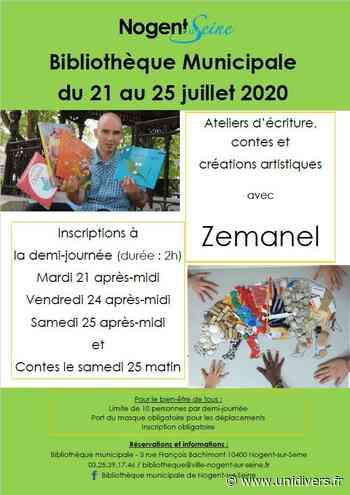 Ateliers d'écriture, contes et créations artistiques mardi 21 juillet 2020 - Unidivers