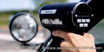 Driver clocked going over 205 km/h in South Bruce Peninsula - Owen Sound Sun Times