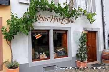 Ihringer Weingut Heger eröffnet das Wii-Lädele in Staufen neu - Gastronomie - Badische Zeitung