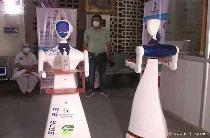 Robots deployed to serve COVID-19 patients in Vadodara based hospital