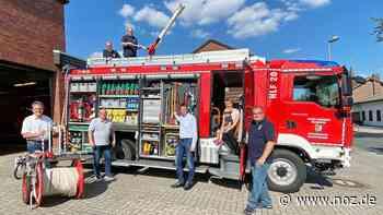 Brandaktuell unterwegs: Gemeinde Bissendorf präsentiert neues Löschfahrzeug - noz.de - Neue Osnabrücker Zeitung