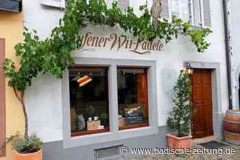 Ihringer Weingut Heger eröffnet das Wii-Lädele in Staufen neu - Gastronomie - Badische Zeitung - Badische Zeitung