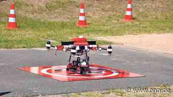Hilfe von oben mit neuer Drohne - Potsdamer Neueste Nachrichten