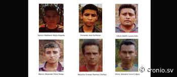 Seis pandilleros que operaban en el municipio de Atiquizaya fueron condenados a 16 años de prisión cada uno - Diario Digital Cronio de El Salvador