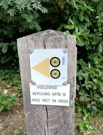 Permanente mountainbikeroute van 75 kilometer in Grenspark K... (Kalmthout) - Gazet van Antwerpen