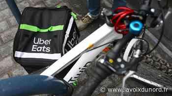 Uber eats ne se limite plus à Maubeuge, le service gagne doucement l'arrondissement - La Voix du Nord