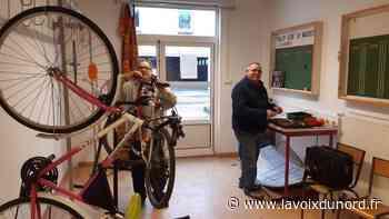 Maubeuge: l'atelier vélo redémarre - La Voix du Nord