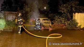 Maubeuge: un feu de voiture rue du Gazomètre, mardi soir - La Voix du Nord