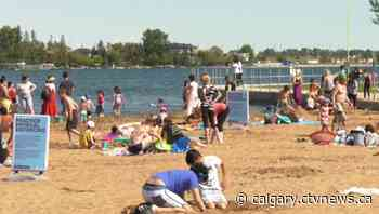 Chestermere, Alta. asks province for more help in controlling beach crowds - CTV News