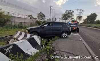Exfuncionario de Ecatepec atropella a mujer en la Texcoco-Lechería | El Universal - El Universal