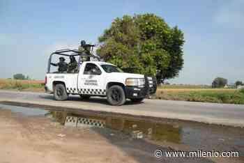 Refuerza Guardia Nacional labores de vigilancia en zona Tula-Tepeji - Milenio