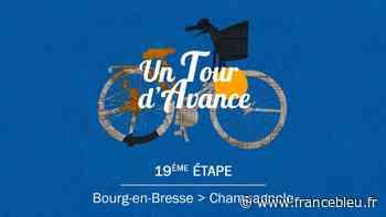 """VIDÉO - """"Un Tour d'avance"""" : Bourg-en-Bresse - Champagnole, la 19e étape du Tour comme si vous y étiez - France Bleu"""