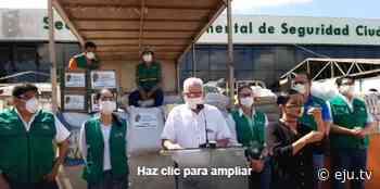 Gobernación cruceña envía alimentos y medicamentos a los municipios de Portachuelo y Santa Rosa del Sara - eju.tv