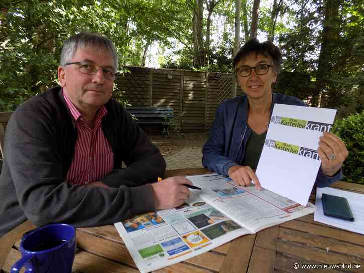 Inwoners pompoengemeente ontvangen opnieuw gratis weekblad: DeMooiKasterleeKrant vult leegte op na verdwijnen De Postiljon