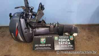 Em Manacapuru, homem é detido por tentar vender motor de popa roubado - Manaus Alerta