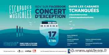 Concert d'exception aux Cabanes Tchanquées vendredi 17 juillet 2020 - Unidivers