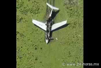 Sedena y GN hallan restos de avioneta calcinada en Mapastepec (+video) - 24 HORAS
