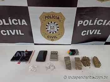Polícia Civil de Estrela apreende drogas com adolescentes no Bairro Nova Morada - independente