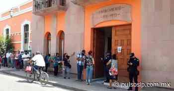 Refuerzan medidas sanitarias en Alcaldía de Rioverde - Pulso de San Luis